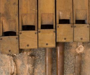 Na organy składa się ponad 3 tys. piszczałek. Chcący wesprzeć odbudowę instrumentu, za 200 zł mogą zostać sponsorem najmniejszych z nich.