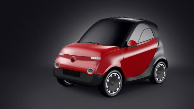 SEVI to małe miejskie auto, dla dwóch osób. Pojazd ma mieć zasięg 150 km i ładowany ma być za pomocą ładowarki o mocy 7kW.