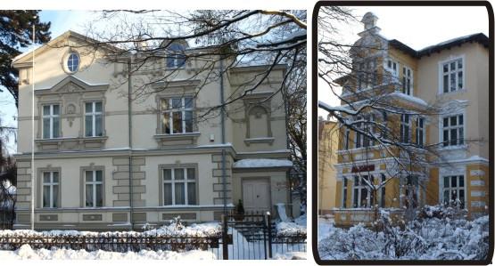 Piękne kamienice przy ul. Kościuszki.