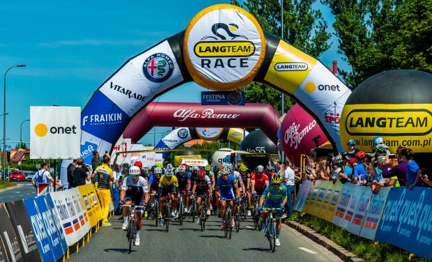 Jedną z imprez kolarskich w weekend będzie wyścig promowany przez Czesława Langa.