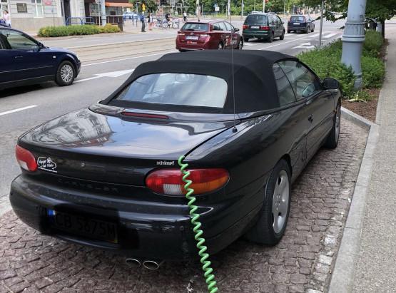 Ładowanie prądem auta... spalinowego. Polak potrafi.