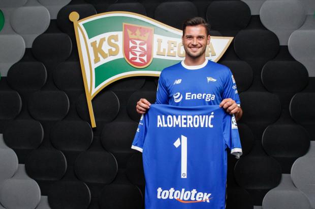 Zlatan Alomerović zagra w Lechii Gdańsk z numerem 1.