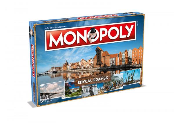 Wstępny projekt pudełka nowej edycji Gdańsk Monopoly. Gra ma się ukazać jesienią tego roku.