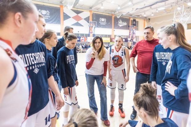 Lubow Szwecowa-Knap poprowadzi drużynę w EBLK. Dzięki głównemu sponsorowi oraz wsparciu Politechniki Gdańskiej zespół może spokojnie myśleć o grze na najwyższym szczeblu rozgrywek