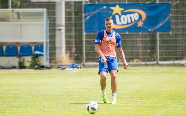 Aleksandyr Kolew będzie w nowym sezonie jedną z głównych opcji w ataku Arki Gdynia.