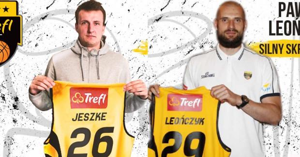 Damian Jeszke i Paweł Leończyk zostali nowymi koszykarzami Trefla Sopot.