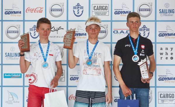 Igor Kuczys (z lewej) polubił srebro. Przed rokiem był wicemistrzem Europy, a i start w Volvo Gdynia Sailing Days rozpoczął od 2. miejsca. Przed nim jeszcze rywalizacja w mistrzostwach świata.