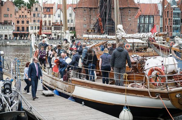 Do mariny w Gdańsku przypłynęły już pierwsze żaglowce na zlot Baltic Sail.