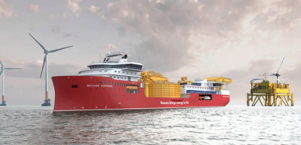 Kablowiec powstaje dla Nexans Subsea Operations.