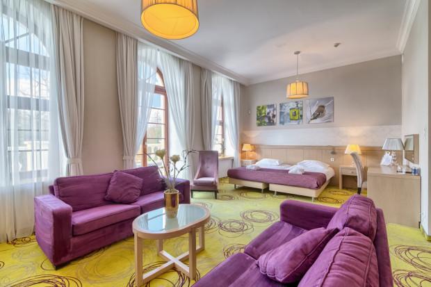 Luksusowy apartament z widokiem na park.