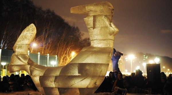 Pod znakiem zapytania stoi organizacja Festiwalu Rzeźb Lodowych w Gdyni...