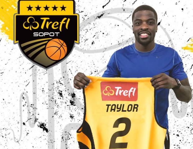 Vernon Taylor będzie jedną z głównych opcji w ataku Trefla Sopot w sezonie 2018/2019.