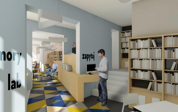 Nowa filia ma pełnić rolę mediateki, o której w Gdyni mówi się od lat.