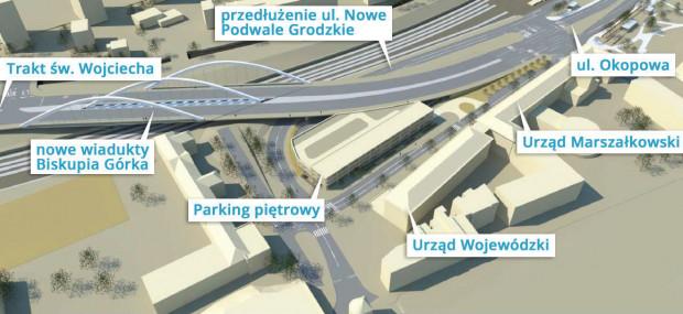 W ramach inwestycji przewidziano dla rowerzystów wykonanie drogi rowerowej i ciągu pieszo-jezdnego.