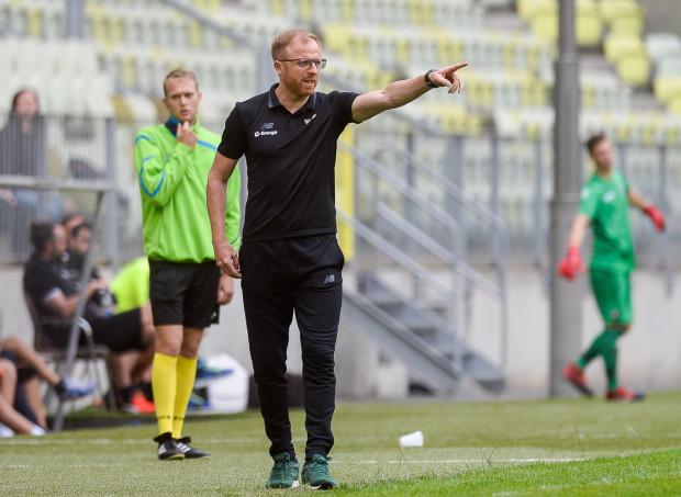 Piotr Stokowiec obiecał kibicom Lechii, że jego zespół będzie walczył w sezonie o każdy centymetr boiska.
