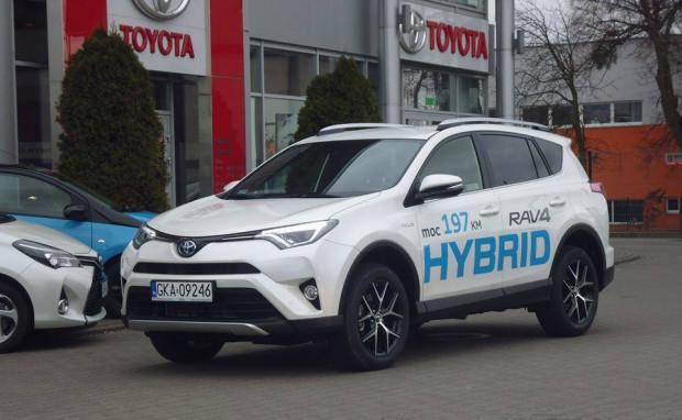 Hybrydowa Toyota RAV4