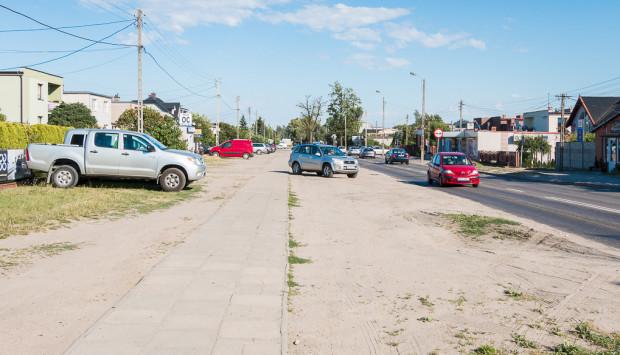 W tym miejscu powstać ma dodatkowa jezdnia tzw. drogi serwisowej.