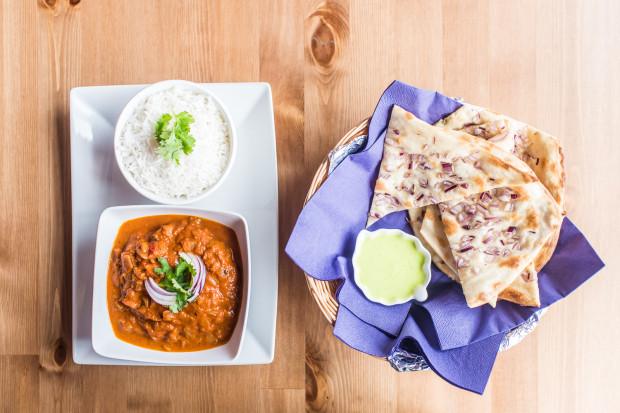 India Express to mała restauracyjka z kuchnią indyjską.