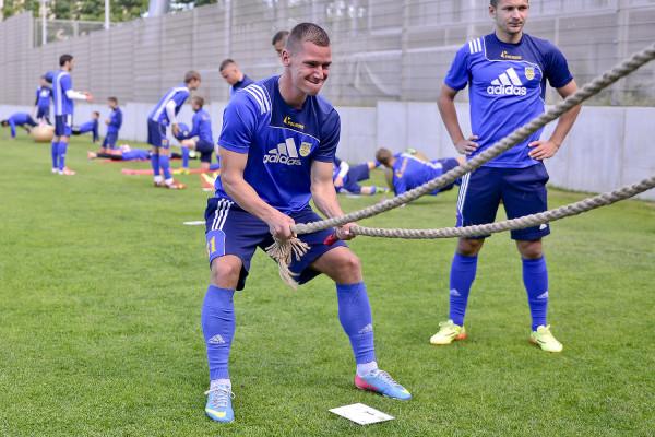 Robert Sulewski ciężką pracą zasłużył na powrót po 3,5 roku przerwy do Arki Gdynia. Wierzy, że w barwach klub, w którym się wychował, zadebiutuje w ekstraklasie, co będzie spełnieniem jego piłkarskich marzeń.