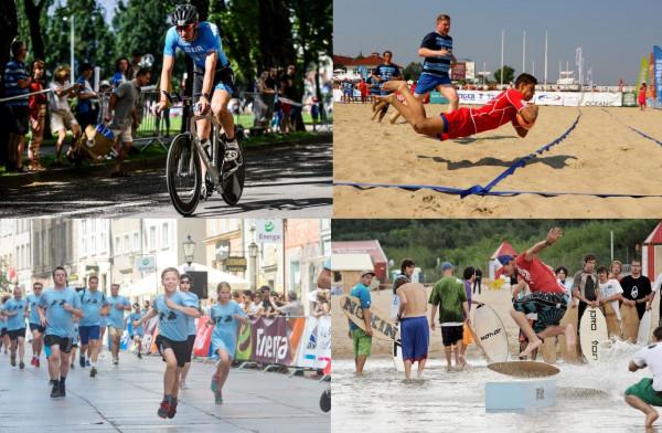 W najbliższy weekend sportowe atrakcje w Trójmieście będzie można znaleźć wszędzie: w mieście, na nadmorskich ścieżkach oraz na plażach.