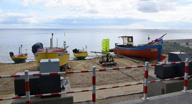 Rozbudowa przystani kończy trwające kilka lat poprawianie komfortu pracy rybaków.