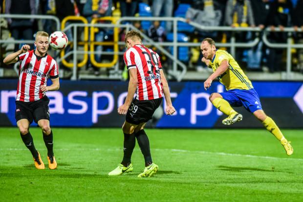 Arka Gdynia w tym sezonie ligowym nie strzeliła jeszcze gola. Rafał Siemaszko przeciwko Cracovii, podobnie jak w poprzednich meczach po wakacjach, zagrał jako rezerwowy napastnik.