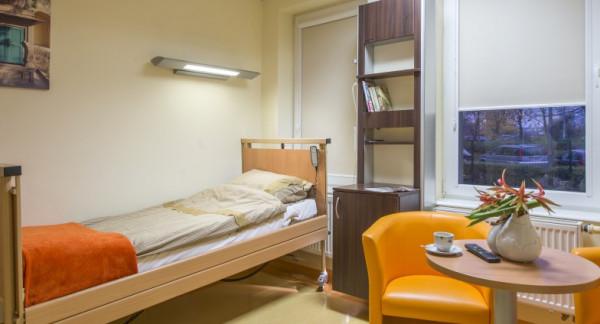 Dla pacjentów przygotowano komfortowe warunki.