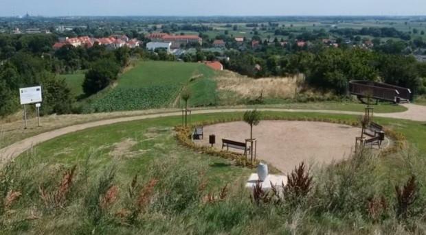 Nowy punkt widokowy przy zbiorniku Stara Orunia.