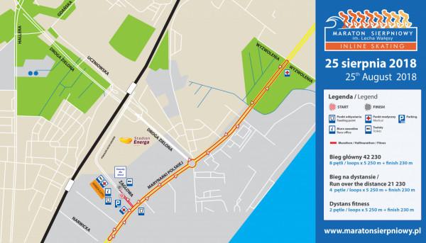 Marynarki Polskiej będzie w sobotę zamknięta przez ok. 5 godzin między Wyzwolenia a Narwicką.