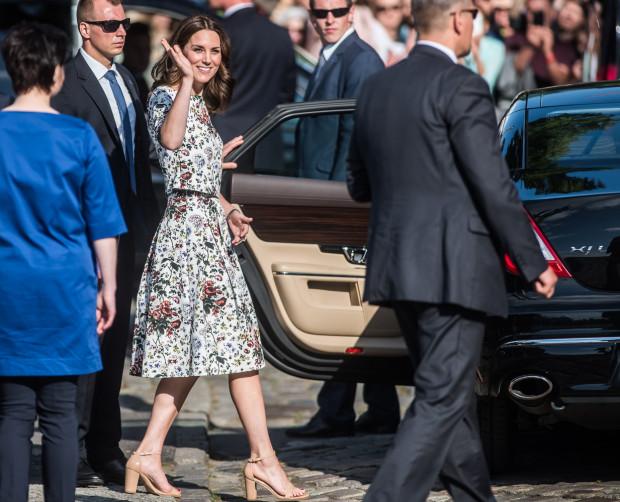 Księżna Kate podczas zeszłorocznej wizyty w Gdańsku.