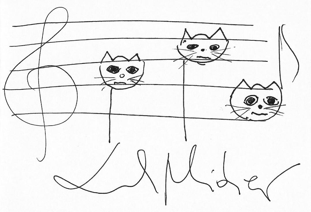 Narysuj Mi Kotka Czyli Kolekcja Autografow Z Kotami