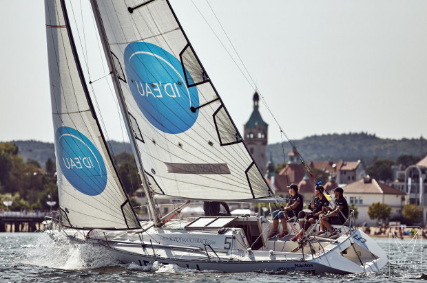 Match Race odbywały się blisko linii brzegowej i przy molo, dlatego widzowie mogli spokojnie śledzić rywalizację żeglarzy.