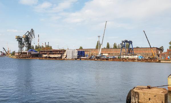 Południowa część Wyspy Ostrów, gdzie teoretycznie mogłoby powstać nowe osiedle, ograniczające rozwój przemysłu w tej części miasta.