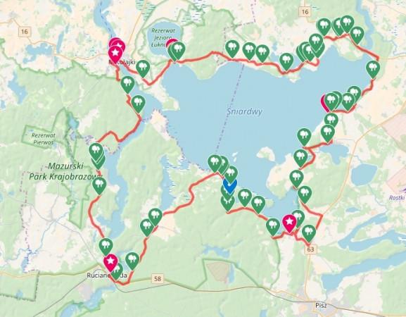 Kliknij na mapę i sprawdź przebieg naszej wycieczki