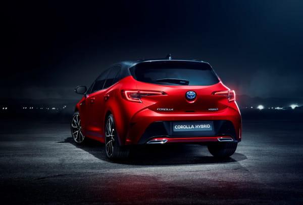 Nowa Corolla w wersji hatchback.