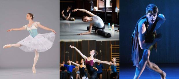 Do zespołu Baletu dołączyli także Oliwia Roniarska (po lewej), Milena Crameri (u góry), Gwenllian Davies (u dołu) i Asher Rosenheim.