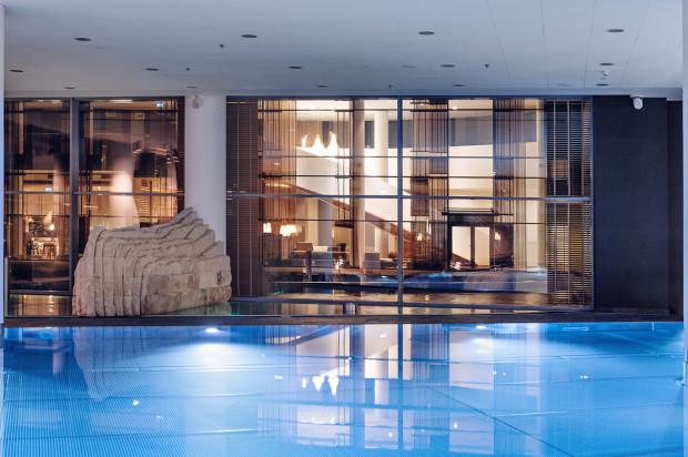 W Mera Spa znajdują się aż cztery baseny i prawie 40 gabinetów zabiegowych.