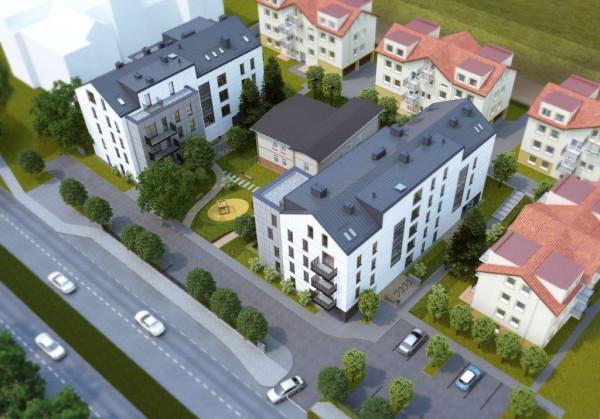 Dwa nowe budynki komunalne powstaną przy al. Niepodległości w Sopocie.