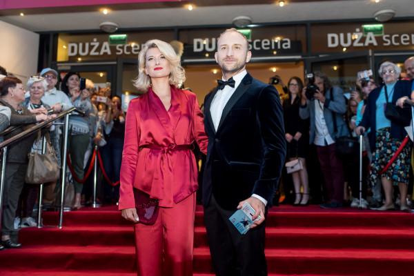 Borys Szyc i Justyna Jeger Nagłowska