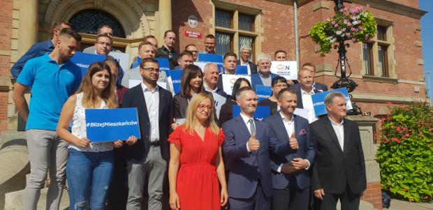 Kandydaci Koalicji Obywatelskiej.