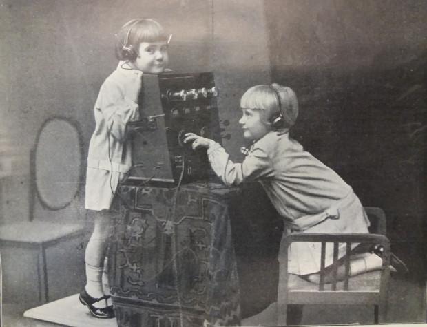 Urocza reklama radia, 1927 r.