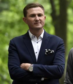 Wiceprezydent Gdańska Piotr Grzelak.