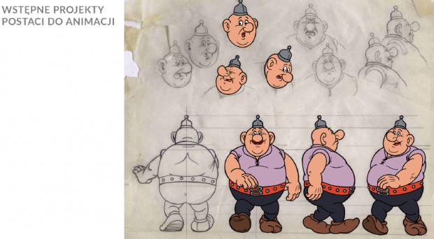"""Pierwsze prace literackie nad animowanym serialem """"Kajko i Kokosz"""" już się rozpoczęły. Najważniejszy jednak będzie 2019 rok, bo właśnie wtedy opracowana zostanie koncepcja plastyczna serialu. W przyszłym roku powinniśmy też zobaczyć pilotażowy odcinek."""