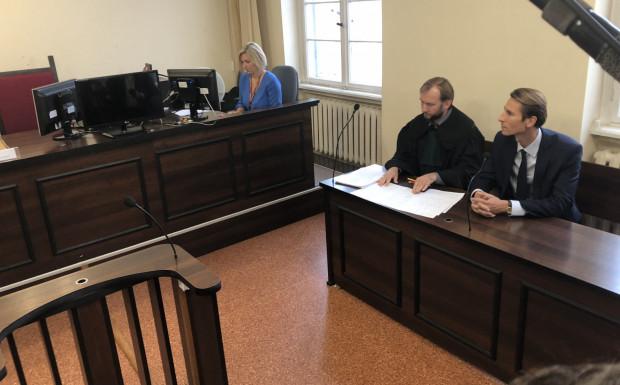 Proces w trybie wyborczym - na zdjęciu Kacper Płażyński.