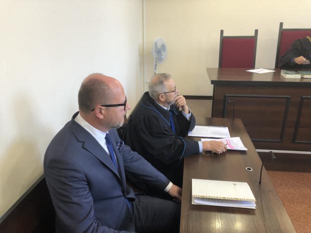 Proces w trybie wyborczym - na zdjęciu Paweł Adamowicz.