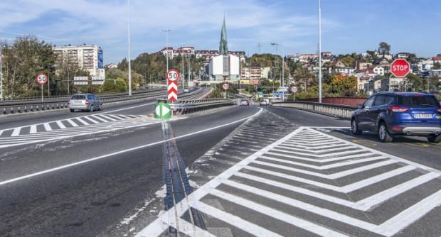 Kierowcom po zmianach łatwiej zjechać z estakady w kierunku Unruga. Problem mają jadący w kierunku Pogórza, którym zostaje jeden pas.