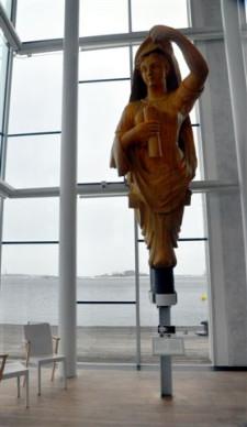 Galiony z Muzeum Morskiego zdobiły szwedzkie okręty wojenne.