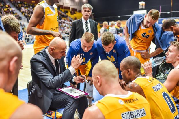 Trener Przemysław Frasunkiewicz sprawdził w sobotę koszykarzy, którzy ostatnio grali nieco mniej.