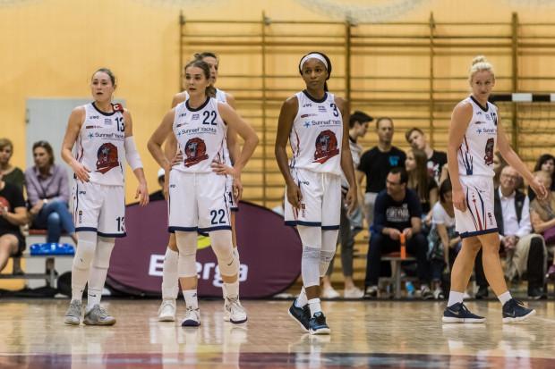 Koszykarki z Gdańska znów mogły jedynie ze smutkiem patrzeć po meczu na tablicę wynikłów