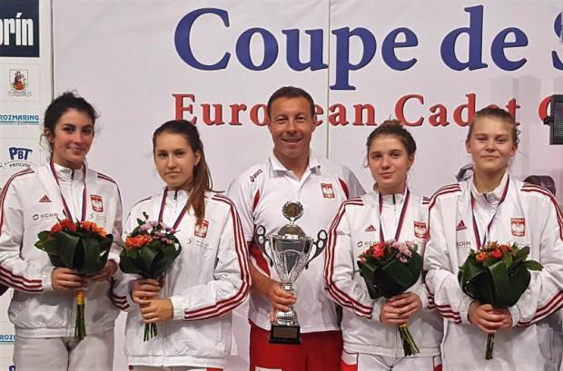 Polskie juniorki wygrały zawody Pucharu Europy do lat 17 na Słowacji.